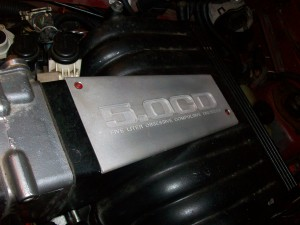 5.0CD upper intake plate